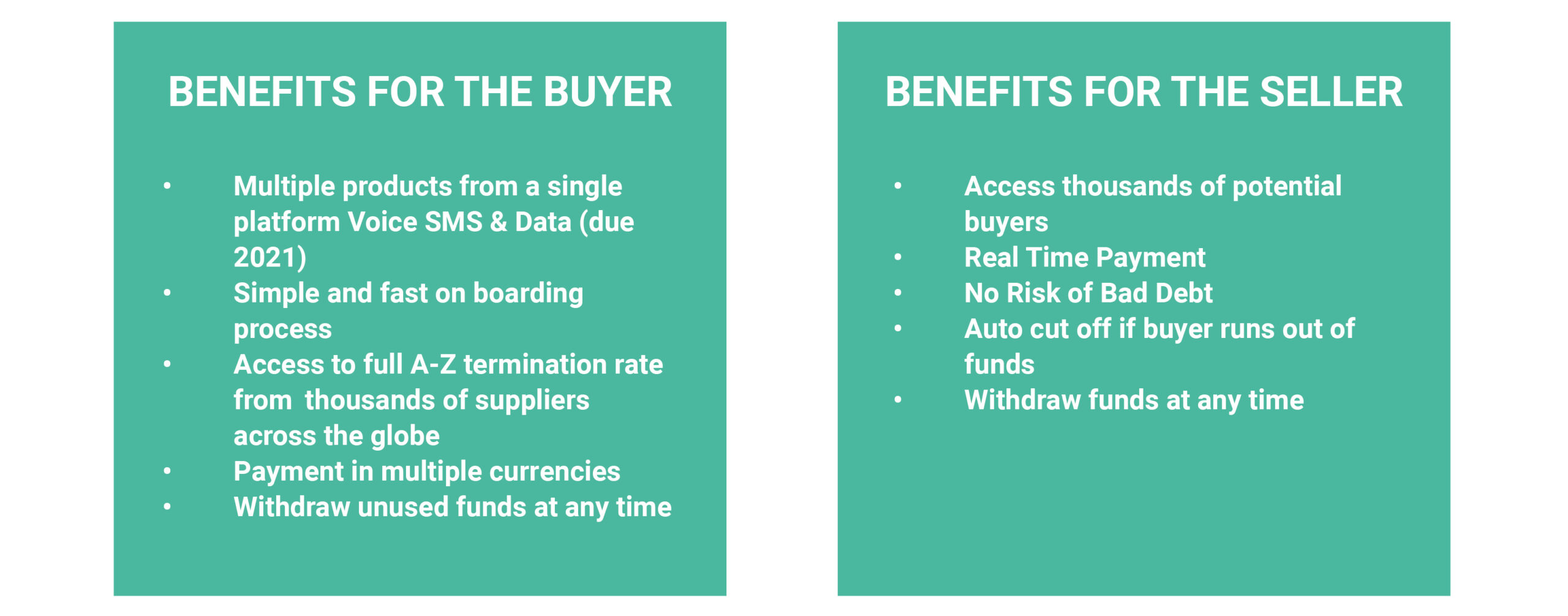 Global Exchange Benefits for the Buyer and Seller | RTX Routetrader